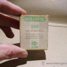 Coleccionismo: MEDICAMENTO ULTRABIOTICO. FARMACIA.. Lote 18737666