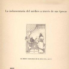 Coleccionismo: COLECCIÓN COMPLETA DE 10 LÁMINAS CON LA HISTORIA DE LA INDUMENTARIA DE MÉDICO A TRAVÉS DE SUS ÉPOCAS. Lote 19656200