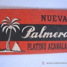Coleccionismo: HOJAS DE AFEITAR - PALMERA. Lote 19790409
