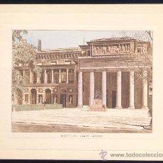 Coleccionismo: GRABADAO ILUMINADO.- MADRID. MUSEO DEL PRADO. Lote 19954099