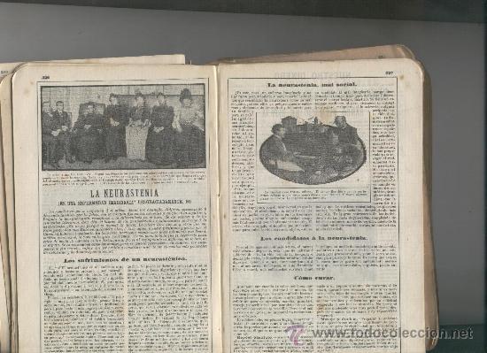 RECORTE DE PRENSA. AÑO 1908. LA NEURESTENIA. ENFERMEDADES MENTALES.BERILLON. (Coleccionismo - Laminas, Programas y Otros Documentos)