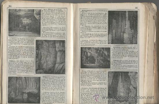 RECORTE DE PRENSA. AÑO 1908,. CUEVAS DE ARTA. MALLORCA. FOTOS. (Coleccionismo - Laminas, Programas y Otros Documentos)