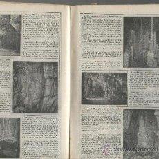 Coleccionismo: RECORTE DE PRENSA. AÑO 1908,. CUEVAS DE ARTA. MALLORCA. FOTOS. . Lote 20185565