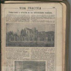 Coleccionismo: RECORTE DE PRENSA. AÑO 1908. TRATAMIENTO Y CURACION DE ENFERMEDADES MENTALES.NUEVA BELEN.. Lote 20185644