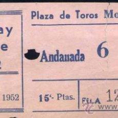 Coleccionismo: 1952.- HOLIDAY ON ICE EN LA PLAZA DE TOROS MONUMENTAL -BARCELONA. Lote 21705277