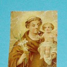 Coleccionismo: ESTAMPA SAN ANTONIO DE PADUA. Lote 21888186