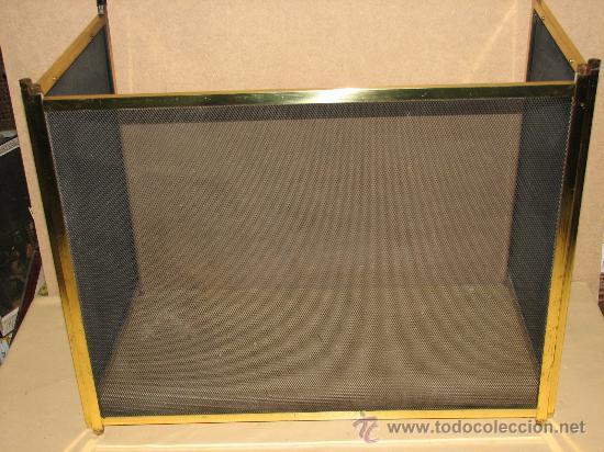 Preciosa pantalla salvachispas de chimenea de comprar - Salvachispas para chimeneas ...