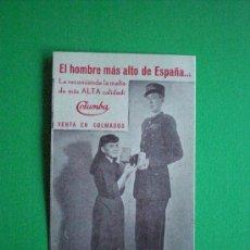 Coleccionismo: MALTA Y TORREFACTOS COLUMBA. Lote 27248207