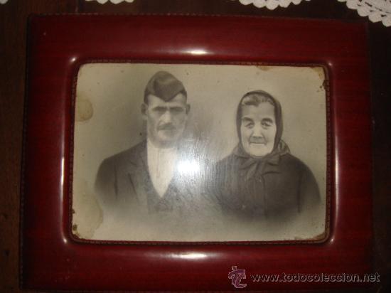 antigua fotografia enmarcada de abuelos / años - Comprar Documentos ...