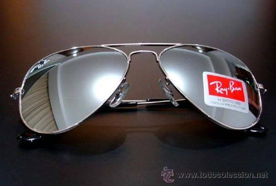 gafas ray ban aviator espejo precio