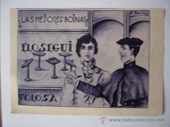 Anuncio en prensa. ago-1934. boinas elosegui. - Sold through Direct ... 629d862e6d7