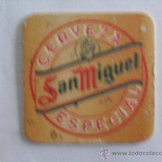 Coleccionismo: POSAVASOS CERVEZA SAN MIGUEL. Lote 23023756