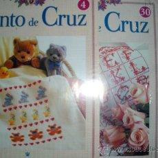 Coleccionismo: PUNTO CRUZ FASCÍCULOS COLECCIÓN RBA 2007 Nº 4, 30 Y 31. Lote 36004508