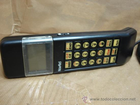 ANTIGUO TERMINAL TELEFONO MOVIL DE MALETA - NOVATEL - COCHE (Coleccionismo - Varios)