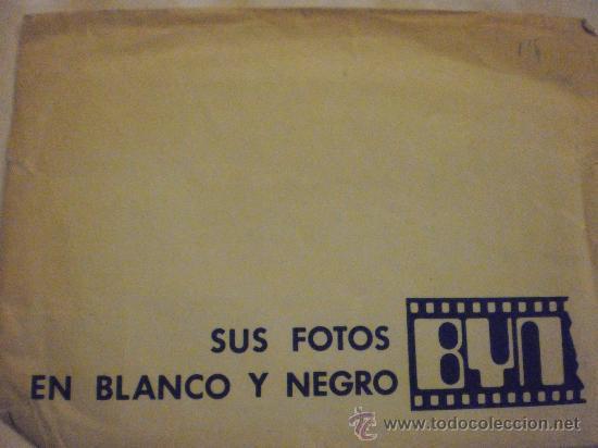 FUNDA DE SOBRE DE FOTOS. HEINZE- FOTOCOLOR (Coleccionismo - Laminas, Programas y Otros Documentos)