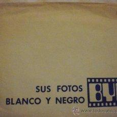 Coleccionismo: FUNDA DE SOBRE DE FOTOS. HEINZE- FOTOCOLOR. Lote 23526082