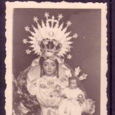 Collezionismo: ESTAMPA FOTOGRAFICA ANTIGUA FECHADA EN 1946 DE NTRA SRA. DEL PRADO PATRONA DE HIGUERA DE LA SIERRA. Lote 28390099