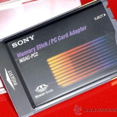 Coleccionismo: SONY MEMORY STICK/PC CARD ADAPTOR. Lote 27059954