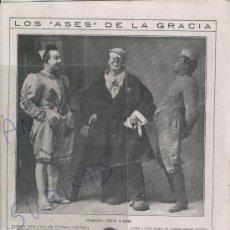 Coleccionismo: RECORTE DE PRENSA. CIRCO. PAYASOS.POMPOFF. THEDY. EMIG. . Lote 24258724