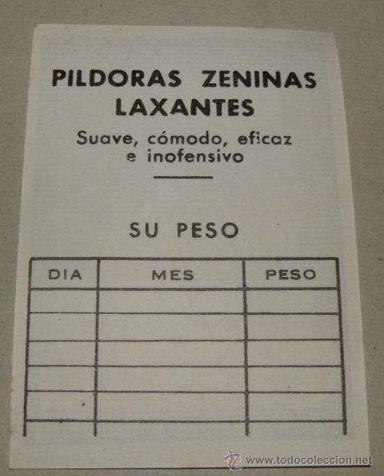 Coleccionismo: ANTIGUA TARJETA DE FARMACIA DE OKAL - CONTRA TODO DOLOR DE CABEZA - PILDORAS ZENINAS LAXANTES - PPR - Foto 2 - 182540670