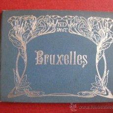 Coleccionismo: BRUXELLES.LIBRITO DE FOTOGRABADOS DE BRUSELAS. 23 FOTOGRABADOS.. Lote 24796177