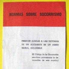 Coleccionismo: NORMAS SOBRE SOCORRISMO. 1961. . ENVIO GRATIS¡¡¡. Lote 25132925