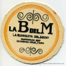 Coleccionismo: POSAVASOS - LA BODEGUITA DEL MEDIO - LA HABANA, CUBA. Lote 143108917