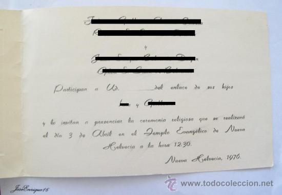 Wedding Invitation Card Marriage Tarjeta Invitacion Boda Casamiento Mariage De Carte Invitation De