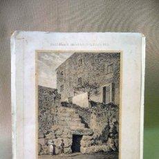 Coleccionismo: LAMINA, DIBUJO, TARRAGONA, MUROS Y PUERTAS CICLOPEA, DICCIONARIO GEOGRAFICO ESTADISTICO, IMPRENTA LA. Lote 26698738