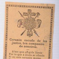 Coleccionismo: ESCRITO CON ORACIÓN. Lote 26681277