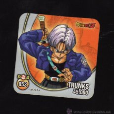 Coleccionismo: IMÁN DRAGONBALL Z - TRUNKS -. Lote 26981666