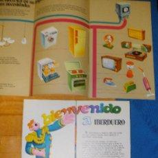 Coleccionismo: FOLLETOS DE IBERDUERO CON CARPETA. AÑO 1978.. Lote 27105605