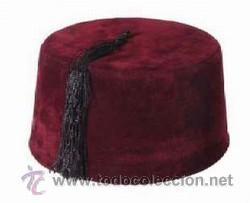 real mejor valorado información para forma elegante Fez sombrero tipico marruecos - Vendido en Subasta - 27158880