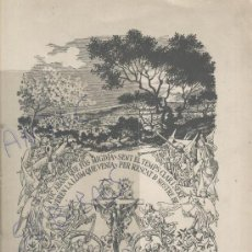Coleccionismo: FESTA MAJOR. MANRESA. FESTA DE LA MISTERIOSA LLUM.ANY 1957.PROGRAMA.. Lote 27175651