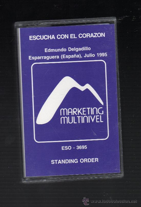 CINTA CASSETTE CONFERENCIA MARKETING MULTINIVEL · ESCUCHA CON EL CORAZÓN (Coleccionismo - Varios)