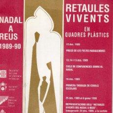 Coleccionismo: NADAL A REUS 1989-90 . Lote 27932433