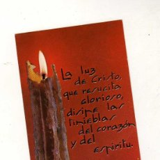 Coleccionismo: ESTAMPA AFA Nº 309 (LA LUZ DE CRISTO QUE RESUCITA GLORIOSO, ...). Lote 28180297