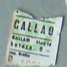 Coleccionismo: MADRID-ENTRADA CINE CALLAO. Lote 28267618