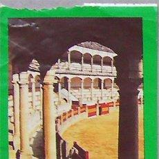 Coleccionismo: RONDA ENTRADA PLAZA DE TOROS DE LA REAL MAESTRANZA 1999,MALAGA. Lote 28444736