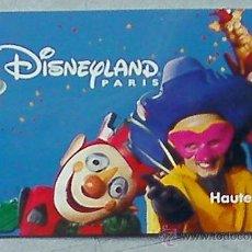 Coleccionismo: DISNEYLAND PARIS-FRANCIA ENTRADA TARJETA PLASTICO RIGIDO AÑO 1997 VER FOTO ADICIONAL. Lote 28444830