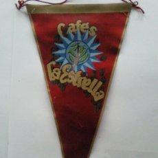 Coleccionismo - BANDERIN ANTIGUO- PUBLICIDAD- CAFES LA ESTRELLA - 28568952