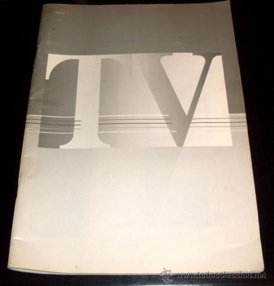 MANUAL DE TV SIN MARCA - 11 IDIOMAS (Coleccionismo - Laminas, Programas y Otros Documentos)