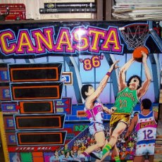 Coleccionismo: PINBALL : CANASTA 86 ( INDER ) - SERIGRAFÍA. Lote 28787992