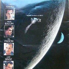 Coleccionismo: CINE PROGRAMA DEL PRE ESTRENO APOLO 13 DE RON HOWARD, CON TOM HANKS, KEVIN BACON, FOTOS ADICIONLES. Lote 28842278