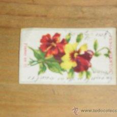 Coleccionismo: PUBLICIDAD FABRICA DE CIGARROS LA EMINENCIA. TARJETA POSTAL TAMAÑO: 4 X 6 CM. ESCRITA. Lote 29016711