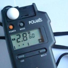 Coleccionismo: FOTOMETRO DIGITAL POLARIS FLASH METER 2 FUNDA ORIGEN, INSTRUCCIONES. Lote 29163335