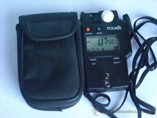 Coleccionismo: Fotometro digital Polaris Flash meter 2 funda origen, instrucciones - Foto 5 - 29163335