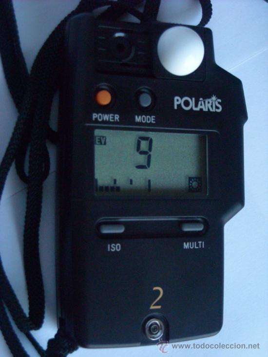 Coleccionismo: Fotometro digital Polaris Flash meter 2 funda origen, instrucciones - Foto 2 - 29163335