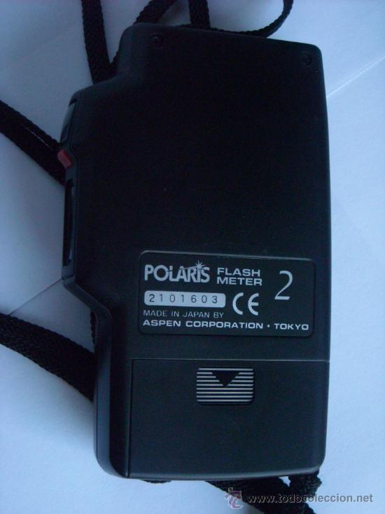 Coleccionismo: Fotometro digital Polaris Flash meter 2 funda origen, instrucciones - Foto 4 - 29163335