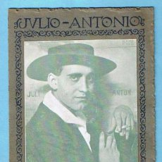 Coleccionismo: JULIO ANTONIO. EXPOSICION DE LOS BUSTOS DE LA RAZA. MORA DE EBRO. TARRAGONA. IMP. CLASICA ESPAÑOLA.. Lote 29419109